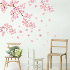 1pcs Pink Flower Tree Wall Stickers Art Decals Mural Removable DIY Sticker New