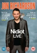 Jon Richardson - Nidiot Live DVD 2014 Comedy Region 2