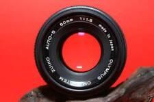 OBJETIVO OLYMPUS OM 50mm 1.8 + anill adaptador OM a 4/3