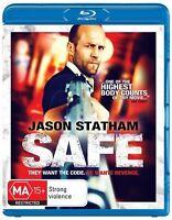 Safe (Blu-ray, 2012) - FREE POST