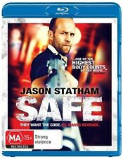 Safe (Jason Statham) Blu ray Regions A,B,C