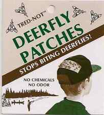 12 pk Deerfly Patches, TredNot Deer Fly Patch Odorless repellent repellant