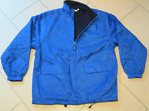 SALE: Fleece- / Windjacke / Jacke / Wendejacke, royalblau, S, Clique (New Wave)