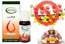 100% NATURAL Essential oil ANTI FLU - Composition of 100% pure oils - Healthy