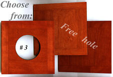 """1 LENS BOARD 140mm x140mm - FOR  WISTA 8""""x10""""  Solid Cherry, undrilled, or hole"""