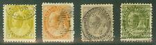 CANADA #81-4 7¢-20¢, high values, used, F/VF+, Scott $167.50