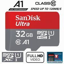 SanDisk Ultra 32gb Micro SD Card SDHC Class 10 GPS Phone Tablet Camera Memory