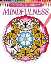 Color By Numbers - Mindfulness (Chartwell Coloring Books), Woodroffe, David