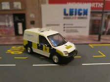 76FTC012 Ford Transit Connect Van RAF Police with Working Roof Light Bar