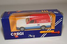 ^ CORGI TOYS 503 FORD ESCORT 55 VAN NATIONAL EXHIBITION CENTRE MINT BOXED