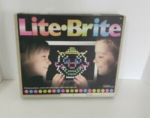 Lite Brite Hasbro Brand New Classic Game 163 Pieces Ages 4+ 2016