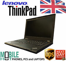 "LENOVO Thinkpad T430s 14"" pollici 320GB HDD Intel Core i5 3rd Gen 2.6GHz 8GB SLIM"