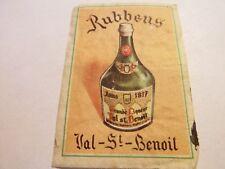 Etiquette allumette - Liqueur VAL-St-BENOIT - Rubbens - (115)