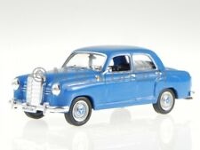 Mercedes W120 180 D Ponton blue diecast model car Whitebox 1/43