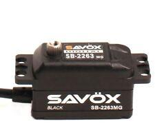 Savox Servos - Black Edition Low Profile Brushless Digital Servo