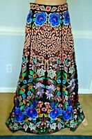 New NWT Temperley London Baudelaire Embroidered Long Maxi Dress Skirt UK 10 US 6