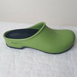 Sloggers Clogs Size 6 Rubber Slip On Mule Green Yard Garden Shoes Made in USA