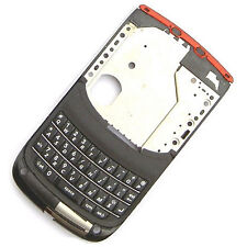100% authentiques BlackBerry Torch 9800 Milieu Châssis logement + clavier + interface + Flex Rouge