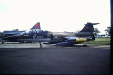 4/544-2 Lockheed F-104 Starfighter Turkish Air Force 8-704  Kodachrome SLIDE