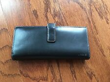 Lodis black leather Card wallet
