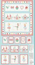 Tutu Ballerina Pocket Tidy Wall Hanging Cotton Quilting Panel