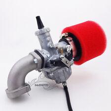 Carby 30mm Mikuni VM26 Carburetor Intake Pipe For YX 150cc 160cc Pit Dirt Bike