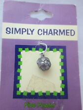 Simply Charmed Pewter Soccer Ball Charm