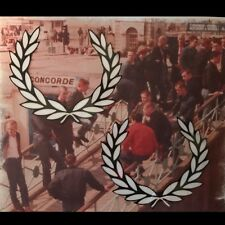 Laurel Wreath Vinyl Sticker X2 Fred Perry Oi Skinhead Mod Suedehead Anti-Fascist