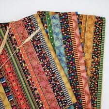 1M Streifen Tribal Ethnisch Stoff Polster Vorhang Boho Basteln Baumwolle Linien