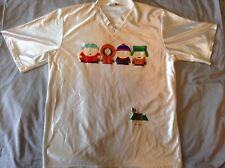 South Park 100% Polyester T-Shirt So Smooth! 1998 Stanley Desantis Like New!