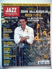 JAZZ MAGAZINE #551 John McLaughlin,Pat Martino,Derek Bailey,Wayne Krantz (revue)