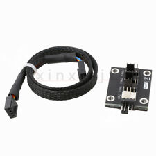 PC CPU Fan Power Supply 4 Way PWM Multi Splitter Cable Lead Adapter 4 Pin