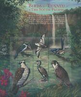 Tuvalu 2000 SG945a South Pacific Birds sheetlet MNH