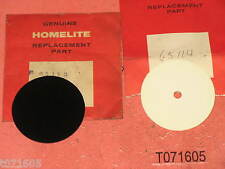 1 ea OEM HOMELITE 65114 outer shield & 65113 inner shield Super EZ Automatic 250