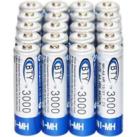 20x AA 3000mAh 1.2V Ni-MH rechargeable battery BTY Cell for MP3 RC Toys Camera P