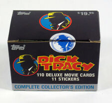 1990 Topps Dick Tracy Sealed Factory Card & Sticker Set (110 + 11)