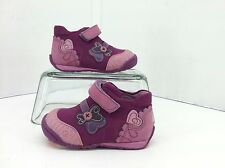 Kio Trend Toddler Pink/Plum Cora Single Strap Ankle Shoes. Size (20)  4.5 to 5