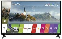LG Electronics 49LJ5500 49-Inch 1080p 60Hz Smart LED TV with 2 HDMI & 1 USB port