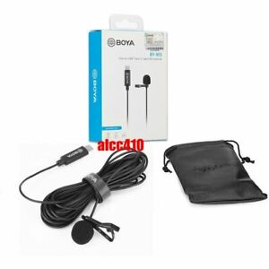 Boya BY-M3 Clip-on Digital Lavalier Microphone for Android devices