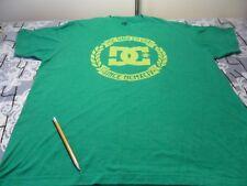 XL- DC Shoes Green / Light Damaged T- Shirt