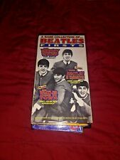 """A Rare Collection Of... Beatles Firsts VHS includes """"The Mersey Sound"""" First Doc"""