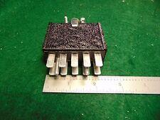 (1) Cinch Jones P410-CCT 10 ckt Male Plug Assembly NOS