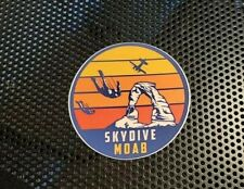 """Skydive Moab MOAB Sticker 2.5"""" parachute Skydiving  NEW"""