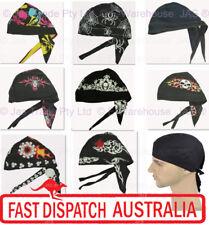 Fitted Bandana Cotton Dorag Doo-rag Du-rag Durag Biker Helmet Liner Hat Headwrap