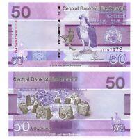 Gambia 50 Dalasis 2019 New Design P-New Banknotes UNC