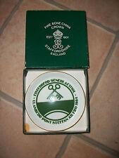 Crown Staffordshire Little Plate 1984 Eisteddfod Llanbedr Steffan
