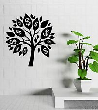 Money Tree Talisman Success Room Decoration Wall Decal Vinyl Stickers (ig3132)