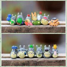 12pcs Hayao Miyazaki Japan Cartoon Lovely My Neighbor Totoro Figures Toy
