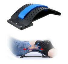 Back Stretcher,Lumbar Support Device Adjustable Pain Relief Back Massager