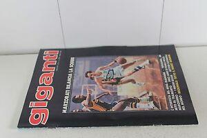 rivista GIGANTI DEL BASKET 1981 numero 4 CON INSERTO